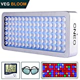 LED Grow Light 1000W Full Spectrum Grow Lights for Indoor Plants with Veg and Bloom, Protective Glasses, Adjustable Hanger, Daisy Chain Plant Lights