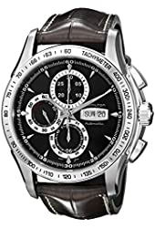 Hamilton Men's H32816531 Lord Hamilton Black Day Date Chronograph Dial Watch