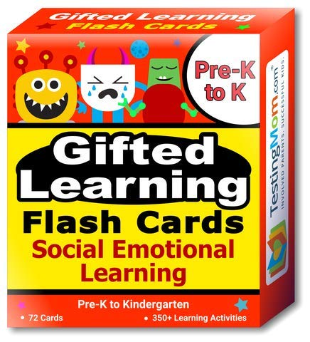 - Gifted Learning Flash Cards - Social Emotional Learning (SEL) for Pre-K and Kindergarten