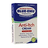 Blue Emu Anti-Itch Cream, 1 Ounce Pack of 12