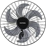 Ventilador de Parede 6 Pás Steel 50cm 200W Bivolt - Ventisol
