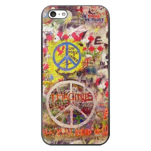 Symbol for peace 4 plastic Black iPhone 5c Case