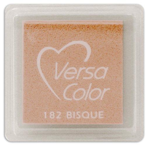 Tsukineko Small-Size VersaColor Ultimate Pigment Inkpad, Bisque (Versacolor Cubes)