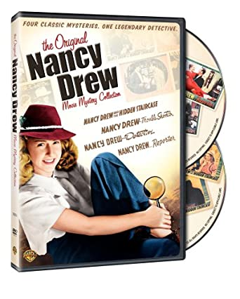 5b77a735aef37 The Original Nancy Drew Movie Mystery Collection (Detective   Reporter    Troubleshooter   Hidden Staircase