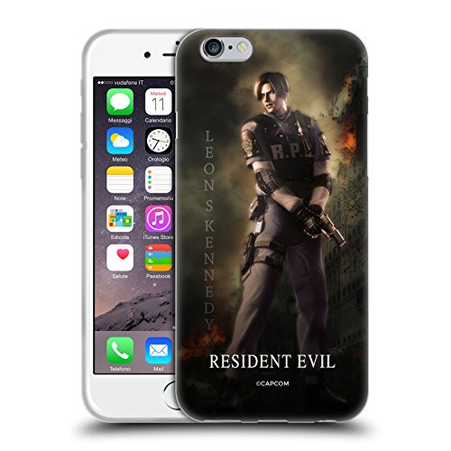 Official Resident Evil Leon S. Kennedy Operation Raccoon City 2 Soft Gel Case for iPhone 6 / iPhone 6s (Resident Evil Operation Raccoon City Best Character)