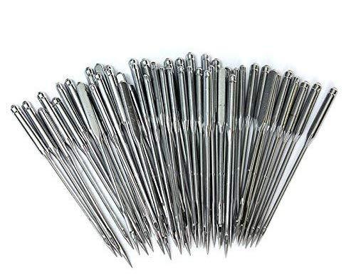 20 agujas de máquina de coser para el hogar, surtidas 75/11, 90/14 ...