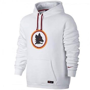 Nike Roma Y NSW Hoodie PO CRE Sudadera AS, Hombre, Blanco (White/Black/Team Red), L: Amazon.es: Deportes y aire libre
