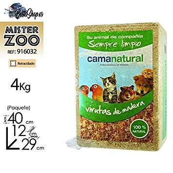 LECHOS Y CAMAS NATURALES PARA GATOS LECHO CAMA CONEJO VIRUTAS DE MADERA PARA COBAYAS GERBOS: Amazon.es: Productos para mascotas