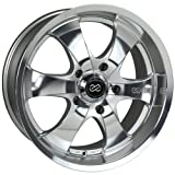 Enkei M6- Truck Series Wheel, Mirror Finish (18x8.5'' - 6x135, 30mm Offset) One Wheel/Rim