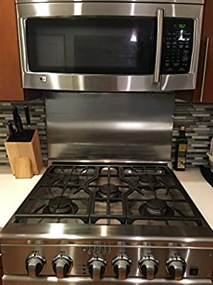 Alloy 304#4 Brushed Stainless Steel Backsplash (Hemmed Edge)