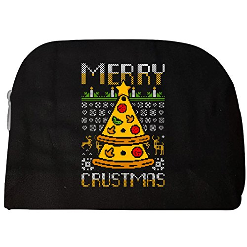 Pizza Slices Christmas Tree - Ugly Christmas Sweater Style - Cosmetic - Tree Christmas Groovy
