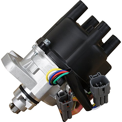 AIP Electronics Complete Premium Electronic Ignition Distributor Compatible Replacement For 1993-1995 Geo Prizm Toyota Celica Corolla 1.8L 1.6L 19020-16250 Oem Fit D16250