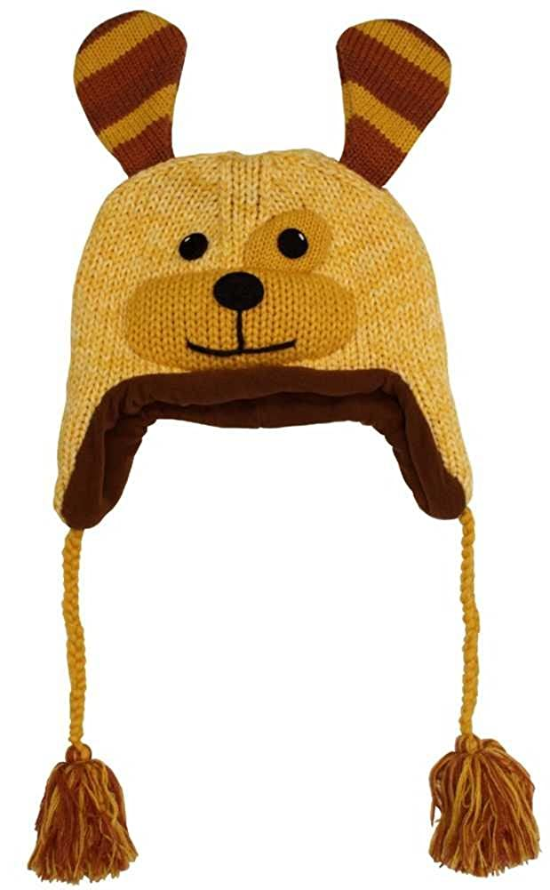 Kyber Outerwear Golden Puppy Face Hat Adult One Size