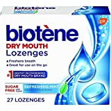Biotene Dry Mouth Lozenges, Refreshing Mint, 27