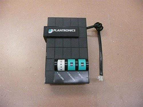 (Plantronics Universal Multimedia Switcher/Amplifier (Unit Only w/o AC Adapter or Headset)) - Refurbished - M10)