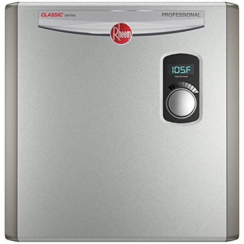 Rheem 240V 3 Heating Chambers RTEX-24 Residential Tankless Water Heater (Tankless Water Heater Electric)