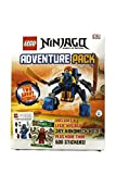 Lego Ninjago Boxed Set Includes Character Encyclopedia, 500 Stickers Collection, Jay Nanomech Building Toy