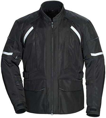 (TourMaster Men's Sonora Air 2.0 Jacket Black X-Large)