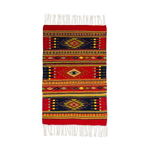 NOVICA Multicolor Zapotec Wool Area Rug (2' x 3.3'), for sale  Delivered anywhere in USA