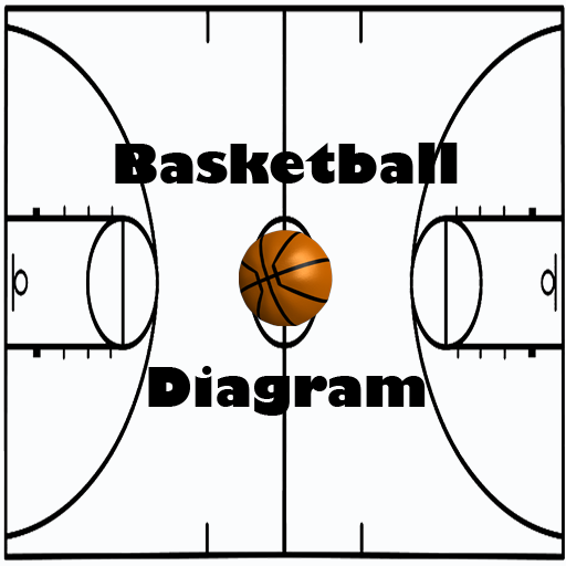 Basketball Coach Diagram - Line Web Design