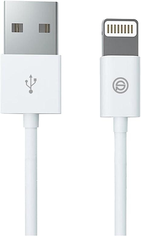 Caricabatterie per cavo di ricarica USB//Cavo per iPhone 7 6s 6 Plus SE 5s certificato MFI Cavo USB-Lightning Intrecciato Caricabatterie IQIYI 3m Cavo di ricarica e sincronizzazione