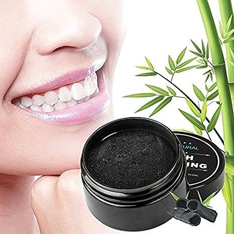 Amazon.com: Kit de blanqueamiento de dientes de carbón ...