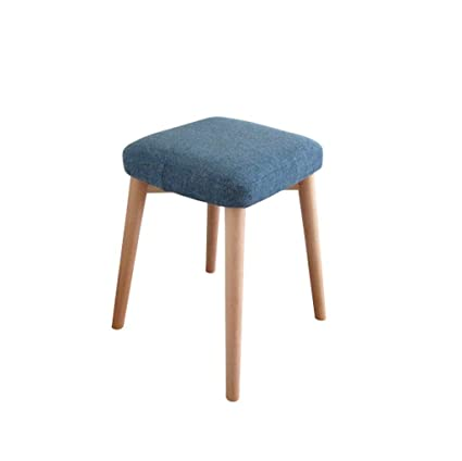 Swell Amazon Com Lqqgxl European Chair Solid Wood Stool Dressing Bralicious Painted Fabric Chair Ideas Braliciousco