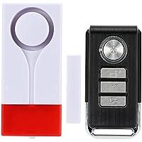 Elsse Wireless Window Glass Break & Vibration Detector Alarm