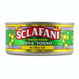 "Tuna ""Tonno"" Solid Light Yellowfin in Olive Oil 6 oz nt wt"