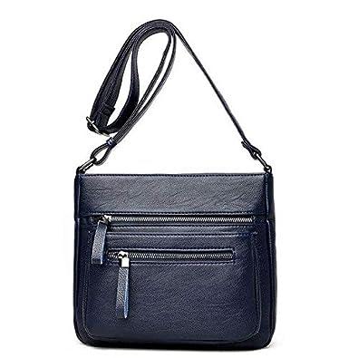 13e80e4cc8cb new fashion women bag pu leather shoulder bags vintage designer messenger  bag luxury ladies handbag clutch bags bolsa feminina Blue  Amazon.in  Shoes    ...