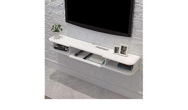 Televisor Montado en la Pared Router WiFi Set Top Box TV, TV Rack, Blanco, 120 cm: Amazon.es: Deportes y aire libre