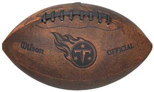 NFL Tennessee Titans Vintage Throwback Football, -