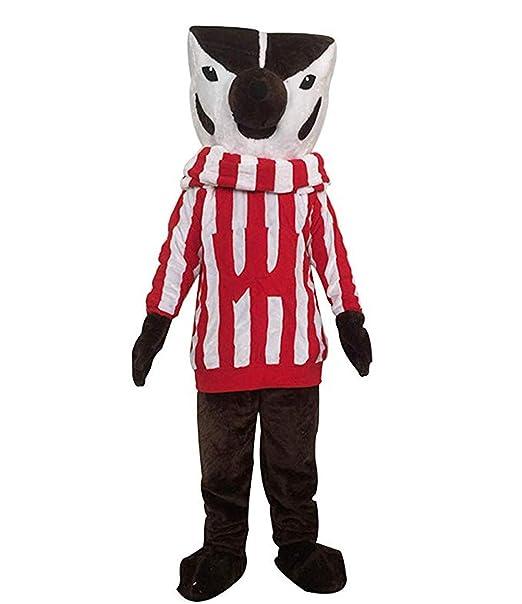 Amazon.com: Wisconsin Bucky Badger - Disfraz de zorro para ...