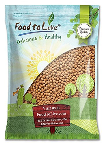 Garbanzo Beans/Chickpea by Food to Live (Kosher, Low Sodium, Dry, Bulk) — 5 Pounds