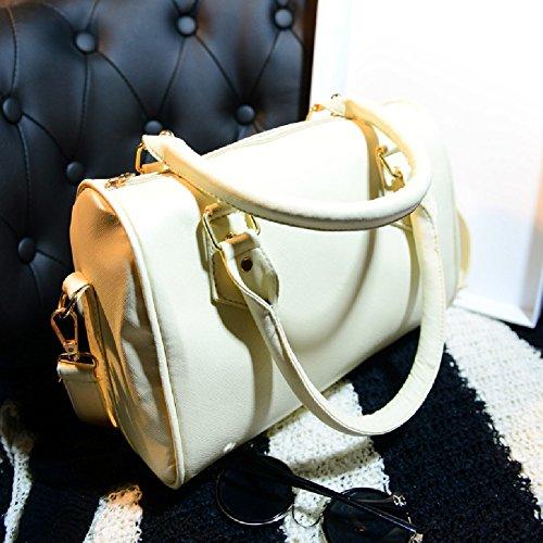 Handbag Sexy Purse PU Beige Hobo Shoulder Bag Women Tote Leather Massenger Domybest pqAwaxa