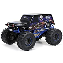 New Bright R/C F/F Monster Jam Sonuva Digger includes 9.6V Power Pack, Batteries and Charger (1:10 Scale) by New Bright
