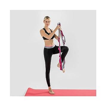 Cinturón de yoga Banda elástica Banda de ejercicio espesar ...