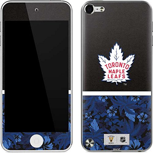 (NHL Toronto Maple Leafs iPod Touch (5th Gen&2012) Skin - Toronto Maple Leafs Retro Tropical Print Vinyl Decal Skin For Your iPod Touch (5th Gen&2012))