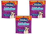 (3 Pack) Bil Jac Little Jacs Small Dog Treats,...