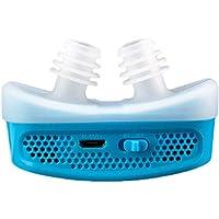 Yoerfd Anti-ronquidos El Dispositivo electrónico Anti-ronquido Mini CPAP para la apnea del sueño Detiene el ronquido Ayuda a Dejar de Fumar