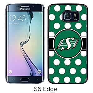 Saskatchewan Roughri Black Popular Custom Design Samsung Galaxy S6 Edge G9250 Phone Case