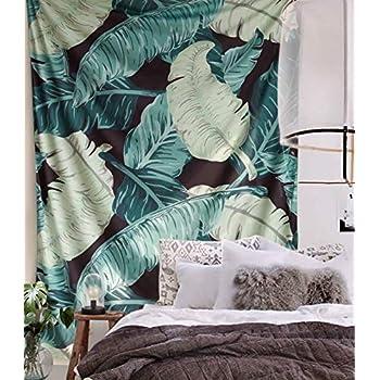 FLBER Banana Leaf Wall Tapestry Home Decor,60