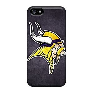 Best Hard Cell-phone Case For Apple Iphone 5/5s With Provide Private Custom High Resolution Minnesota Vikings 7 Image AshtonWells