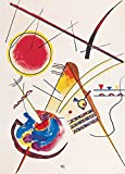 Wassily Kandinsky Poster Adhesive Photo Wallpaper - Watercolour from The Hess Guestbook, 1925, 2 Parts (98 x 71 inches)
