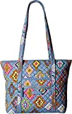 Vera Bradley Women's Iconic Small Vera Tote Painted Medallions One Size