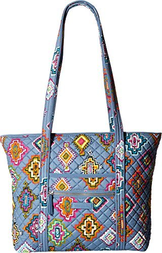 (Vera Bradley Women's Iconic Small Vera Tote Painted Medallions One Size)