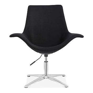 Fabulous Cult Living Manta Swivel Lounge Armchair Fabric Upholstered Ibusinesslaw Wood Chair Design Ideas Ibusinesslaworg