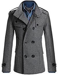 Amazon.com: Greys - Wool & Blends / Jackets & Coats: Clothing ...