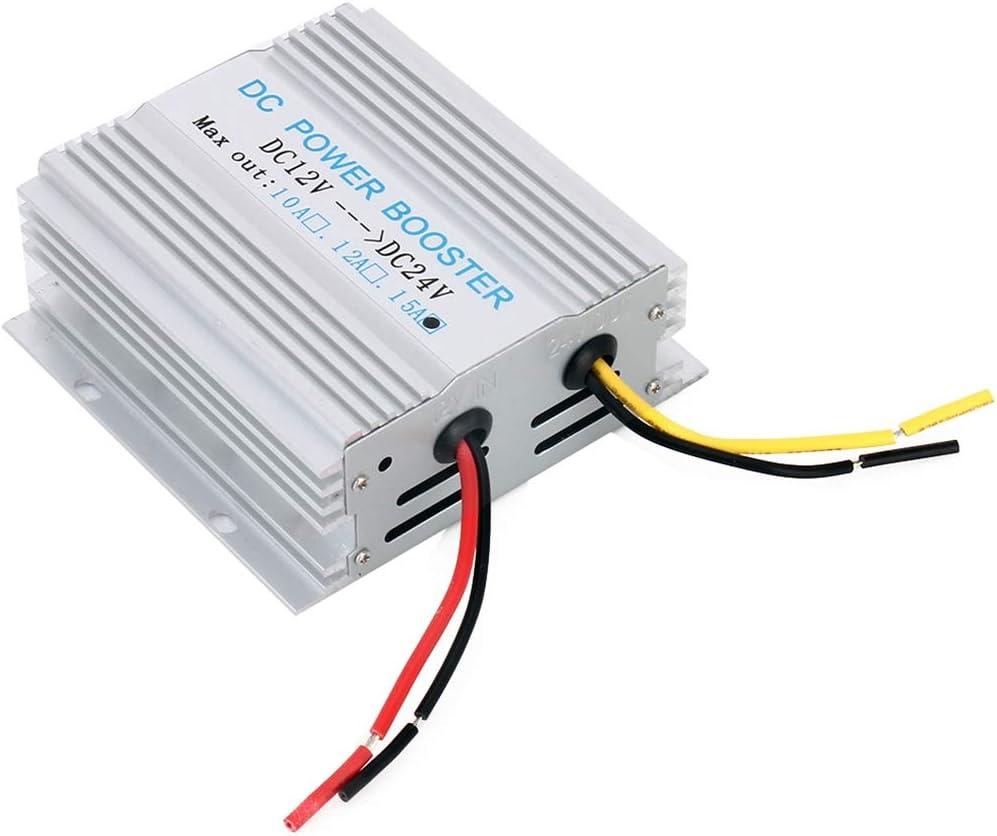 adatto for i veicoli sistemi di sicurezza etc Inverter di potenza multifunzione 15A 360W DC 12V a 24V DC-DC Power Booster Transformer Converter attrezzature ospedaliere telecomunicazioni