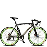 26 Inch 14 Speed Cycling Road Bike 50mm Men's Women's Unisex Adult SHIMANO TX30 Double Disc Brake Ordinary Monocoque